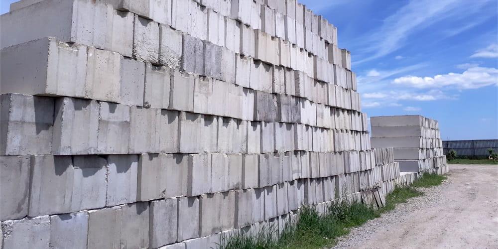 Купить с доставкой фундаментный блок от ЗАО Завод