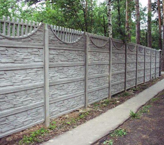 Купить с доставкой жб забор от ЗАО Завод