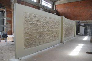 Производство и доставка бетонных заборов от ЗАО Завод