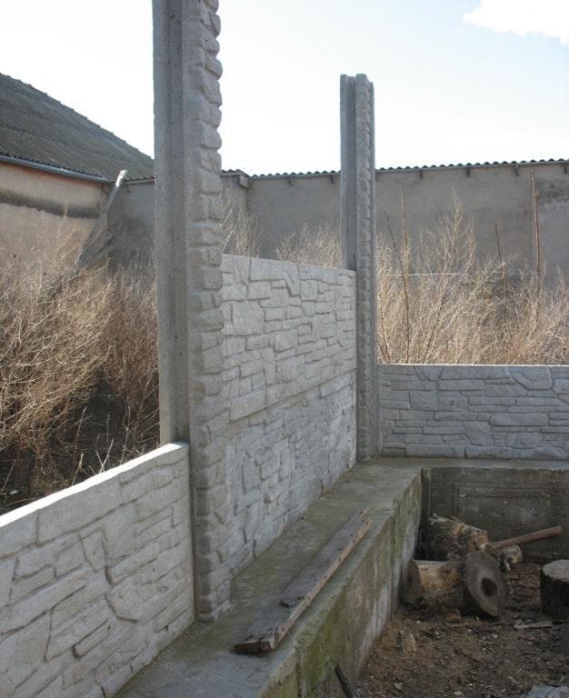 Установить бетонный забор от ЗАО Завод